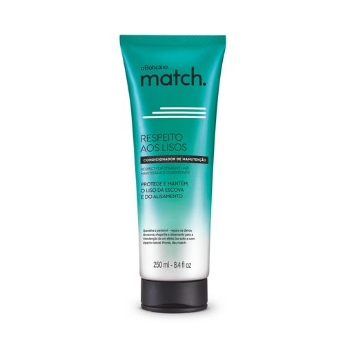 Match Respect for the Straight Hair Conditioner, 250ml | 8.4 fl.oz