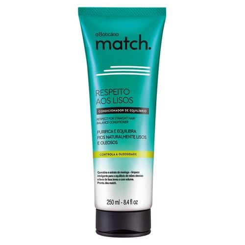 Match Respect for the Straight Hair Balance Conditioner, 250ml | 8.4 fl.oz