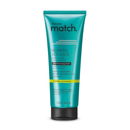 Match Respect for the Straight Hair Balance Shampoo, 250ml | 8.4 fl.oz