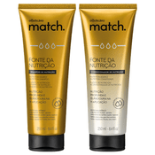 Match Nutrition Set | 01 Shampoo, 01 Conditioner